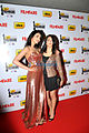 Shruti Haasan, Akshara Haasan at 60th South Filmfare Awards 2013.jpg