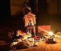 Sidda Vesha Performance at Puduvettu (2) tradition gas light.jpg
