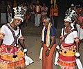 Sidda Vesha Performance at Puduvettu - Baiderulu.jpg