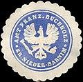 Siegelmarke Amt Französisch Buchholz - Kreis Nieder - Barnim W0214139.jpg