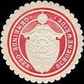 Siegelmarke Gemeinde Ober - Schoeneweide W0209256.jpg
