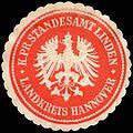 Siegelmarke Königlich Preussisches Standesamt Linden - Landkreis Hannover W0219314.jpg