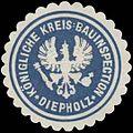 Siegelmarke Königliche Kreis-Bauinspection Diepholz W0331677.jpg