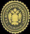Siegelmarke K.K. Bezirkshauptmannschaft Stein-Krain W0320865.jpg