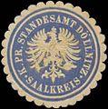 Siegelmarke K.Pr. Standesamt Döllnitz Saalkreis W0360557.jpg