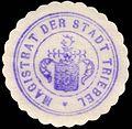 Siegelmarke Magistrat der Stadt Triebel W0229412.jpg
