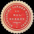 Siegelmarke Ständische Landes - Renterei zu Melsungen W0246500.jpg