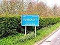 Sign, Pumsaint - geograph.org.uk - 399330.jpg