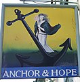 Sign for the Anchor and Hope, Salisbury - geograph.org.uk - 985409.jpg