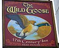 Sign for the Wild Goose - geograph.org.uk - 940948.jpg