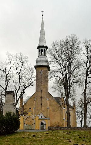 Väike-Maarja Parish - Image: Simuna kirik