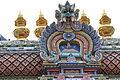 Singapore. Sri Mariamman. Gopuram. South East-24.JPG