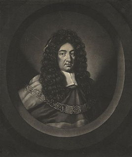 William Scroggs Lord Chief Justice of England