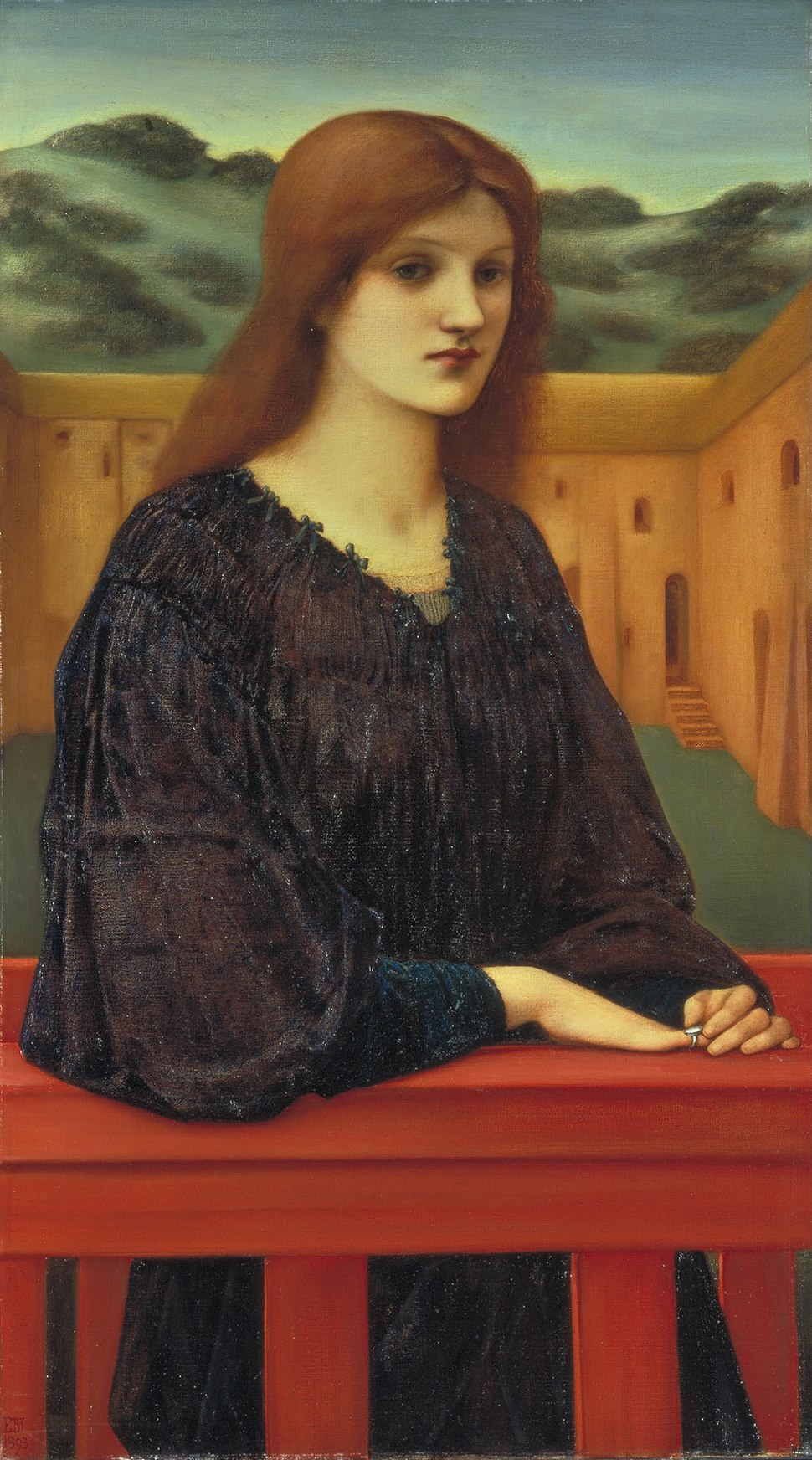 Sir Edward Coley Burne-Jones - Vespertina Quies - Google Art Project