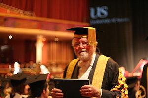 Richard Attenborough - Lord Attenborough during his term as Chancellor of the University of Sussex, February 2006