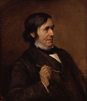William Boxall - Portrait of William Boxall by Michelangelo Pittatore, 1870