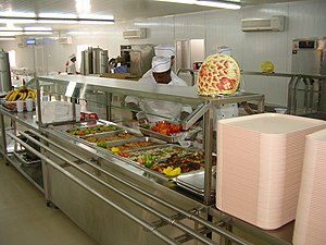 LOGCAP - Food service is a crucial service provided by LOGCAP. Under LOGCAP III, 78.9 million bags of laundry have been cleaned, 1.1 billion meals prepared, 239.2 million patrons visited MWR facilities, and 449.2 million pounds of mail handled. (May 2010)
