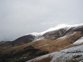 Skiddaw - Image: Skiddaw and Little Man