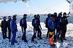 Skoki sylwestrowe sekcji spadochronowej Aeroklubu Gliwickiego, Gliwice 2017.12.30 (17).jpg