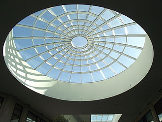 "Skylight - The skylight of Münster's shopping mall ""Arkaden""."