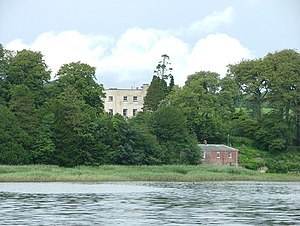 Slebech - Slebech Hall and Eastern Cleddau