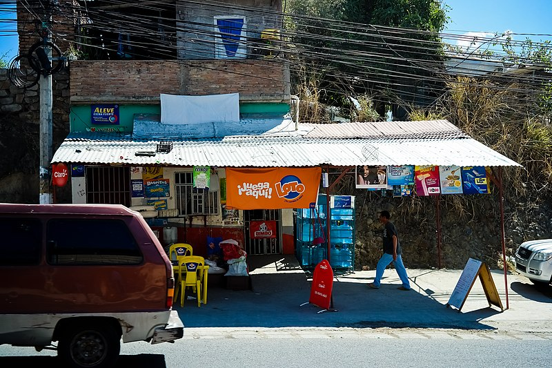 File:Small Convenience Store in Tegucigalpa, Honduras.jpg
