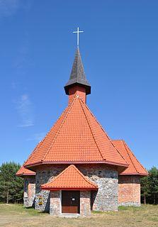 Smołdziński Las Village in Pomeranian, Poland