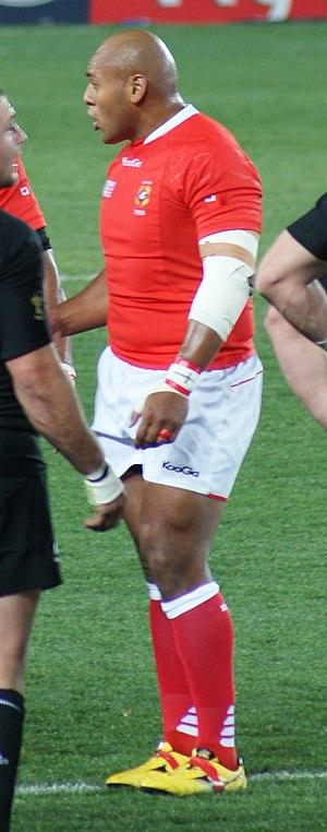 Soane Tongaʻuiha - Tonga'uiha during 2011 World Cup