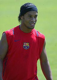 רונאלדיניו, אחד השחקנים הבולטים בעולם בשנות ה-2000