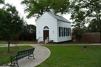 Spring Hill College - Sodality Chapel, built in 1850.
