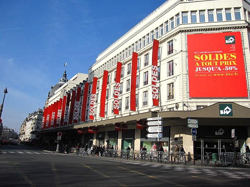 Melhor mês para fazer compras em Paris