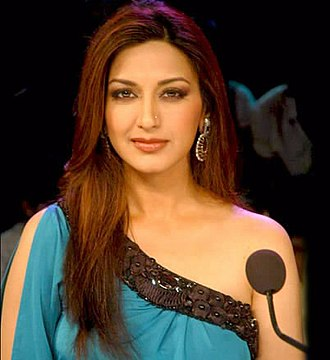 Sonali Bendre - Bendre on the sets of India's Got Talent in 2011