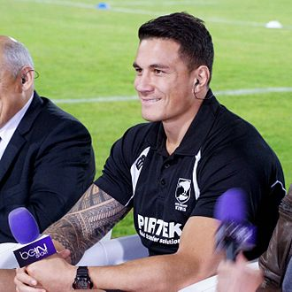 Sonny Bill Williams - Williams during the 2013 RLWC.