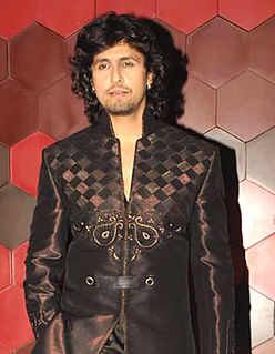Sonu Nigam Indian playback singer