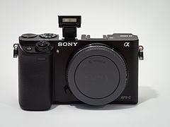 sony ilce 6000. sony alpha ilce-6000 aps-c-frame camera with body cap flash extended ilce 6000
