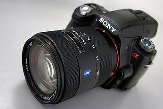 Sony SLT camera - Sony Alpha 55