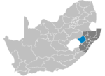 South Africa Districts showing Uthukela.png