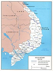 South Vietnam Map