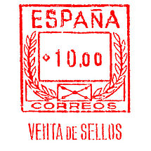 Spain Stamp Type PO A3A