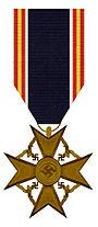 Ehrenkreuz für Hinterbliebene deutscher Spanienkämpfer