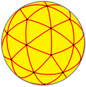 Pentakis dodecahedron - Spherical pentakis dodecahedron