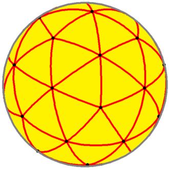 Pentakis dodecahedron - Spherical pentakis dodecahedron