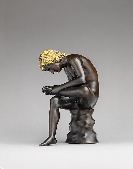 Spinario (Boy Pulling a Thorn from His Foot) - Metropolitan Museum of Art - MET