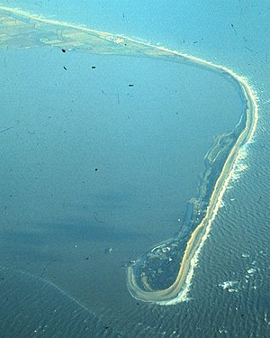 Spurn - Spurn Head from the air in 1979