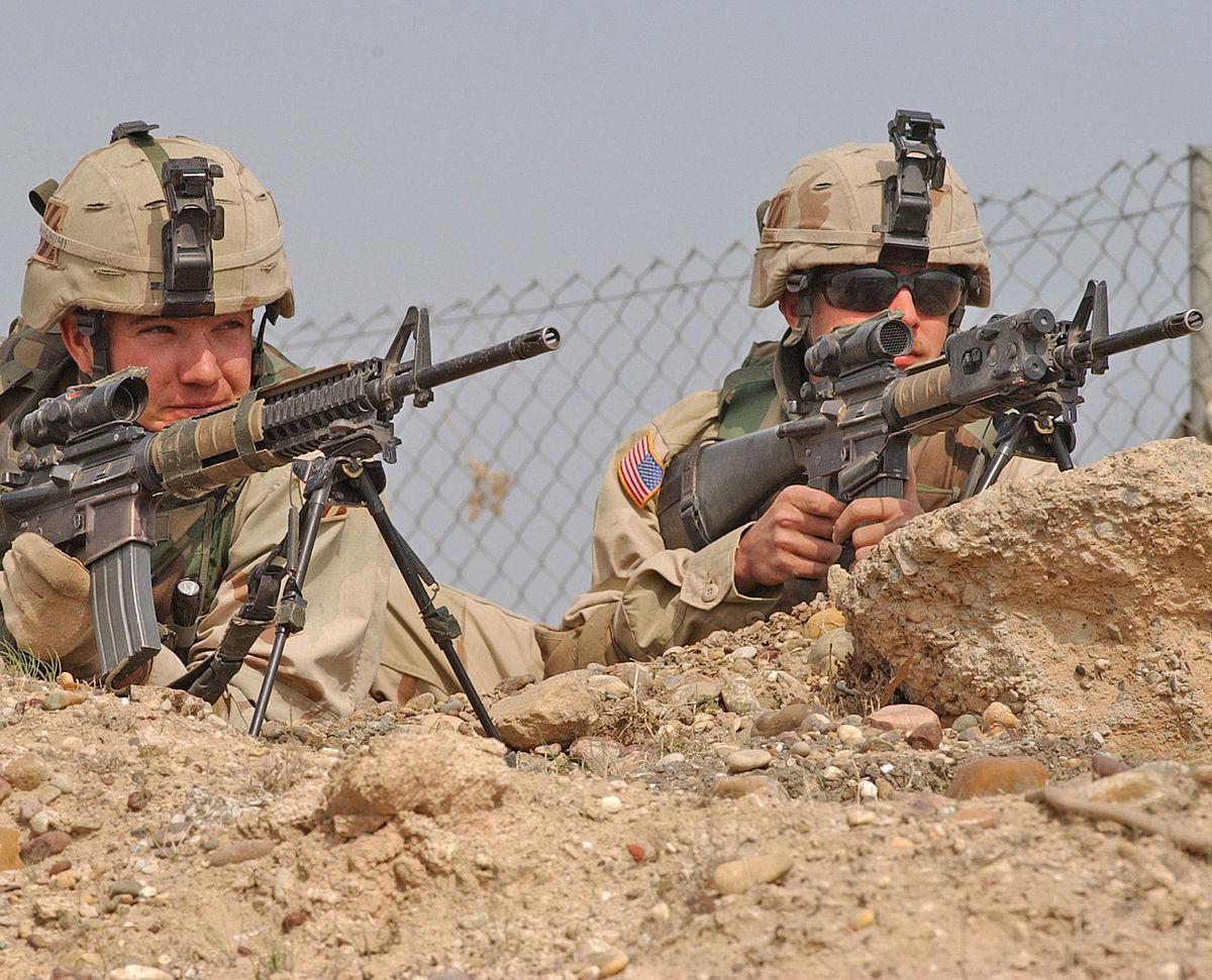 United States Army Squad Designated Marksman Rifle - Wikipedia