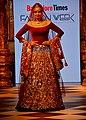 Sridevi walks the ramp at the Bangalore Times Fashion Week 2017 (06).jpg