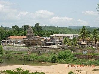 Tunga River - Image: Sringeri 1