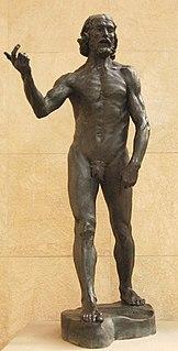 <i>Saint John the Baptist</i> (Rodin) sculpture by Auguste Rodin