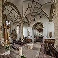 St. Burkard, Würzburg, interior overview 20150729 5.jpg