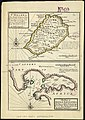 St. Helena, this island belongs to ye English east India Company whose ships usually touch here for a recruit of fresh water and provisions - ; The bay of Agao de Saldanha, this bay is 70 miles north (5961367644).jpg